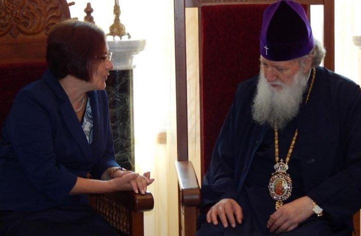 Патриарх Неофит се срещна с кмета на гр. Троян